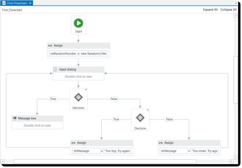 Exemple de script RPA permettant d'automatiser des tâches