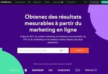 Logiciel Semrush marketing & moteur de recherche